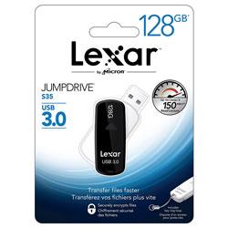PENDRIVE LEXAR 128GB USB3.0 S37 NEGRO | Quonty.com | LJDS37-128ABEU