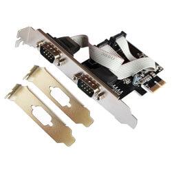 TARJETA COMUNICACIONES L-LINK LL-PCIEX-SERIE PCI-E 1PTO SERIE PERFIL_BAJO | Quonty.com | LL-PCIEX-SERIE