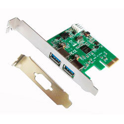 TARJETA PCI-E 2 PTOS USB 3.0 PERFIL BAJO L-LINK | Quonty.com | LL-PCIEX-USB