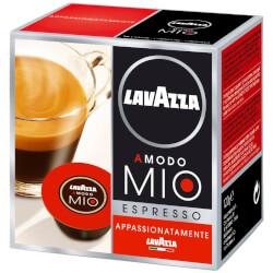 16 Cápsulas Lavazza A Modo Mio Espresso Appassionatamente | Quonty.com | APPASSIONATAMENTE
