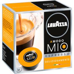 16 Cápsulas Lavazza A Modo Mio Espresso Deliziosamente | Quonty.com | DELIZIOSAMENTE