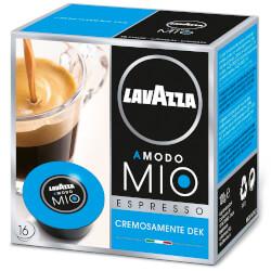 16 Cápsulas Lavazza A Modo Mio Espresso Cremosamente Dek | Quonty.com | CREMOSAMENTEDEK