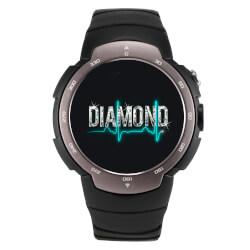 SMARTWATCH LEOTEC BLACK DIAMOND G 1,33'' QUADCORE 4GB 3G GPS PULSOMETRO M.ACTIVIDADES 480MAH | Quonty.com | LESW05G
