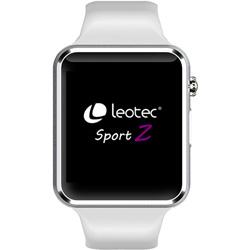 SMARTWATCH LEOTEC SPORT Z BLANCO 1,54'' 128MB 2G M.ACTIVIDADES 380mAh | Quonty.com | LESW06W