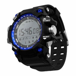RELOJ INTELIGENTE LEOTEC BLUE MOUNTAIN 1,1'' | Quonty.com | LESW09B