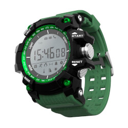 RELOJ INTELIGENTE LEOTEC GREEN MOUNTAIN | Quonty.com | LESW09G