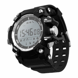 RELOJ INTELIGENTE LEOTEC BLACK MOUNTAIN | Quonty.com | LESW09K