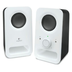 ALTAVOCES LOGITECH MULTIMEDIA SPEAKERS Z150 2.0 3W BLANCO | Quonty.com | 980-000815
