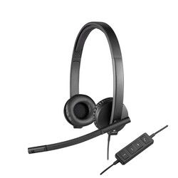 Auriculares C/Microfono Logitech H570e Negro   Quonty.com   981-000575