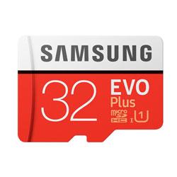 Microsd Samsung Evo+ 32gb Cl10 Uhs-1 Adaptador Sd | Quonty.com | MB-MC32GA/EU