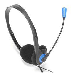 Auriculares C/Microfono Ngs Ms103 Jack-3.5mm Negro | Quonty.com | MS103