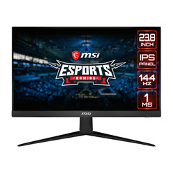 Msi Optix G241 Monitor 23.6 Fhd 144hz 1ms  Hdmi Dp | Quonty.com | 9S6-3BA41T-002