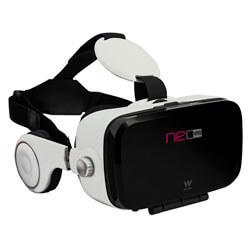 GAFAS 3D REALIDAD VIRTUAL SMARTPHONE WOXTER NEO VR5 WHITE | Quonty.com | MV26-208