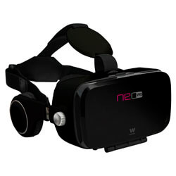 GAFAS 3D REALIDAD VIRTUAL SMARTPHONE WOXTER NEO VR5 BLACK | Quonty.com | MV26-209
