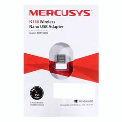 Adaptador Red Mercusys Mw150us Usb2.0 Wifi-N/150mbps Nano | Quonty.com | MW150US