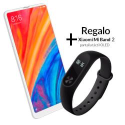XIAOMI MI MIX 2S 5,99'' 6GB/64GB 4G WHITE + MI BAND 2 | Quonty.com | MZB6206EU+MGW4024GL