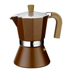 CAFETERA MONIX CREAM 9 TAZAS | Quonty.com | M670009