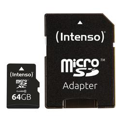 Microsd Intenso 3413490 Clase 10 64gb C/Adapt | Quonty.com | 3413490