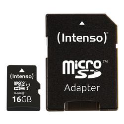 Microsd Intenso 3423470 Uhs-I Premium 16gb C/Adap | Quonty.com | 3423470