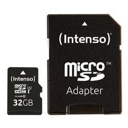 Micro Sdintenso 3423480 Uhs-I Premium 32gb C/Adap | Quonty.com | 3423480