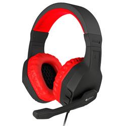 Auriculares C/Microfono Genesis Argon 200 Gaming Rojo | Quonty.com | NSG-0900