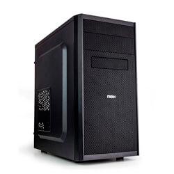 CAJA MINITORRE/MICRO-ATX NOX COOLBAY MX S/FUENTE USB3.0 METAL NEGRA | Quonty.com | NXCBAYMX