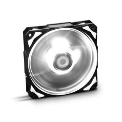 Ventilador Nox Hfan 12cm 1.600rpm Leds-Blancos | Quonty.com | NXHUMMERF120LW