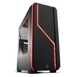CAJA SEMITORRE/ATX NOX HUMMER MC S/FUENTE USB3.0 NEGRA LED-MULTI CONT.VENTILADORES | Quonty.com | NXHUMMERMCB