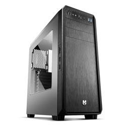 CAJA SEMITORRE/ATX NOX HUMMER ZS S/FUENTE USB3.0 NEGRA | Quonty.com | NXHUMMERZS