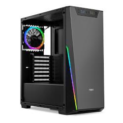 CAJA SEMITORRE/ATX NOX INFINITY SIGMA S/FUENTE USB3.0 RGB | Quonty.com | NXINFTYSIGMA