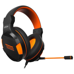 AURICULARES C/MICROFONO NOX KROM KENDO GAMING JACK-3.5MM NEGRO | Quonty.com | NXKROMKND