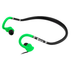 AURICULARES DEPORTIVOS NGS GREEN COUGAR | Quonty.com | COUGARGREEN