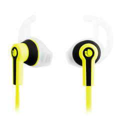 AURICULARES DEPORTIVOS NGS RACER YELLOW | Quonty.com | RACERYELLOW