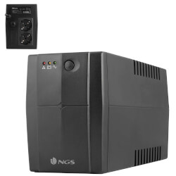 SAI NGS FORTRESS 600 V2 - 400VA/240W - OFF LINE | Quonty.com | FORTRESS600V2