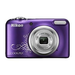 "CAMARA DIGITAL NIKON COOLPIX A10 LILA - 16.1MPX - ZOOM OPTICO 5X - TFT 2.7""/6.7CM - VIDEO 720P HD - ESTABIL. DIGITAL - SD - 2xAA + FUNDA | Quonty.com | 999A10PU1"