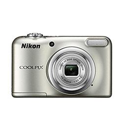 "CAMARA DIGITAL NIKON COOLPIX A10 PLATA - 16.1MPX - ZOOM OPTICO 5X - TFT 2.7""/6.7CM - VIDEO 720P HD - ESTABIL. DIGITAL - SD - 2xAA + FUNDA | Quonty.com | 999A10S1"