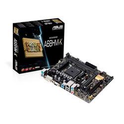 PLACA ASUS A68HM-K FM2+ 2DDR3 DVI PCX3.0 SATA3 USB3.0 MATX | Quonty.com | 90-MB0KU0-M0EAY0