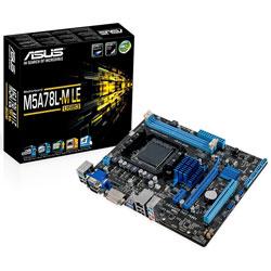 PLACA ASUS M5A78L-M LE/USB3 AMD AM3 2DDR3 DVI SATA2 USB3.0 MATX | Quonty.com | 90MB0MY0-M0EAY0