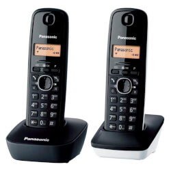 PANASONIC KX-TG1612SP1 PACK DUO | Quonty.com | KX-TG1612SP1