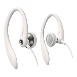 AURICULARES DEPORTIVOS PHILIPS SHS3300WT BLANCOS | Quonty.com | SHS3300WT/10
