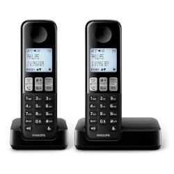 TELÉFONO DECT PHILIPS DÚO D230   Quonty.com   D2302B/23
