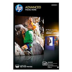 PAPEL FOTO GLOSSY HP Q8692A 10X15CM 100 HOJAS | Quonty.com | Q8692A