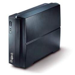 SAI RIELLO PROTECT PLUS PRP650 - 650VA/360W - OFFLINE - BATER AS SIN MANTENIMIENTO - 2x SCHUKO - PLUG AND PLAY - NEGRO | Quonty.com | PRP650