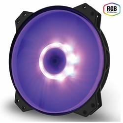 Ventilador 20cm Cooler Master Fan Mf200r Rgb | Quonty.com | R4-200R-08FC-R1