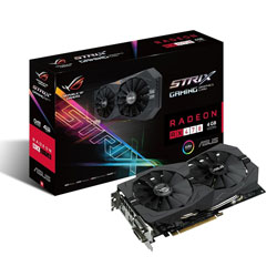 TARJETA GRAFICA ASUS STRIX-RX470-4G-GAMING 4GB GDDR5 PCIE3.0 HDMI | Quonty.com | 90YV09J0-M0NA00