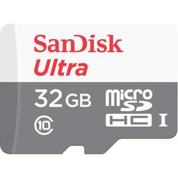 Microsd Sandisk 32gb Cl10 Uhs-I + Adaptador Sd | Quonty.com | SDSQUNS-032G-GN3MA