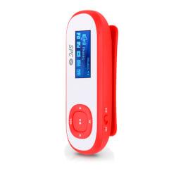 REPRODUCTOR MP3 SPC CLIP PEDOMETER 8GB ROJO | Quonty.com | 8608C