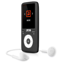 REPRODUCTOR MP4 SPC PURE SOUND COLOUR 2 8488D 8GB NEGRO | Quonty.com | 8488D