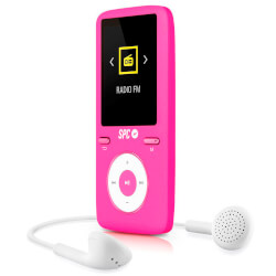 REPRODUCTOR MP4 SPC PURE SOUND COLOUR 2 8488P 8GB ROSA | Quonty.com | 8488P