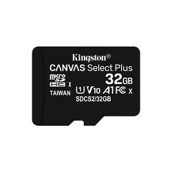 Microsd Kingston 32gb Cl10 Uhs-I Canvas Selected Plus | Quonty.com | SDCS2/32GBSP